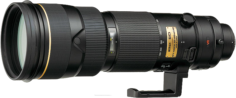 Nikon 200-400 lens, ideal for wildlife photography