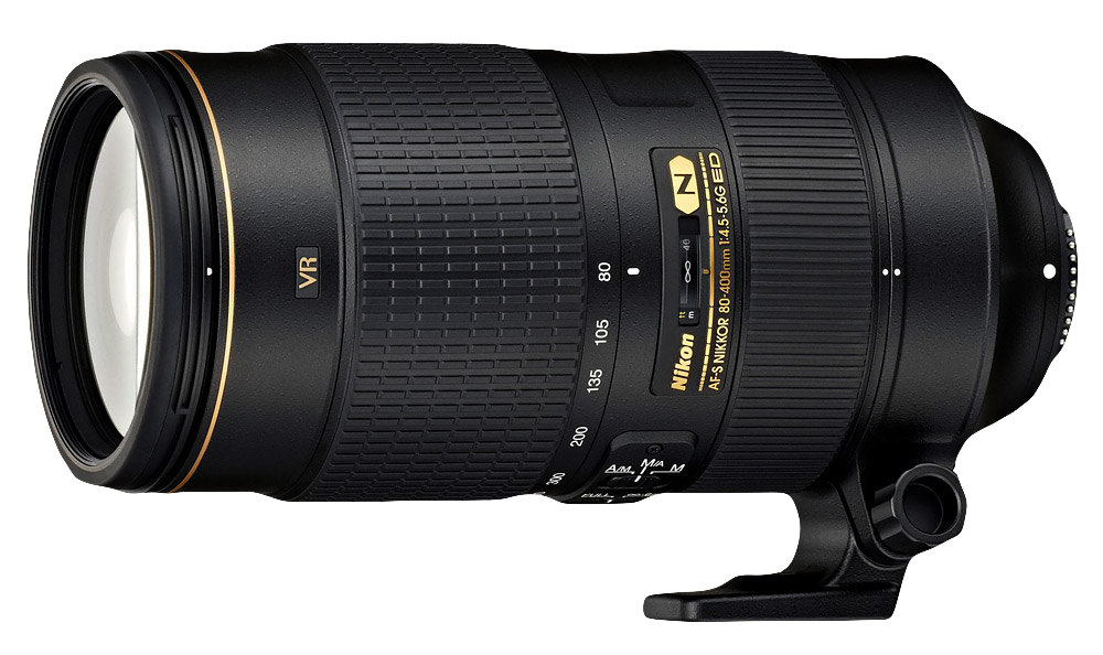 Nikon AF-S 80-400 lens for wildlife photography
