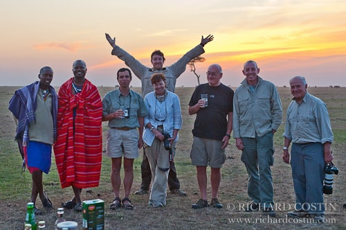 Back from the Mara