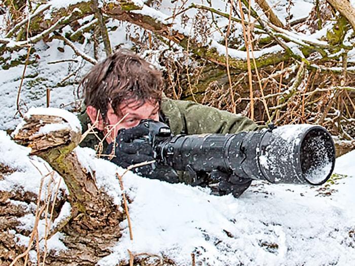Wildlife photographer Richard Costin