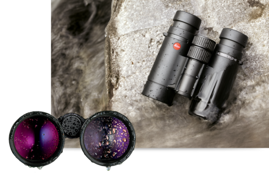 The Leica AquaDura coating