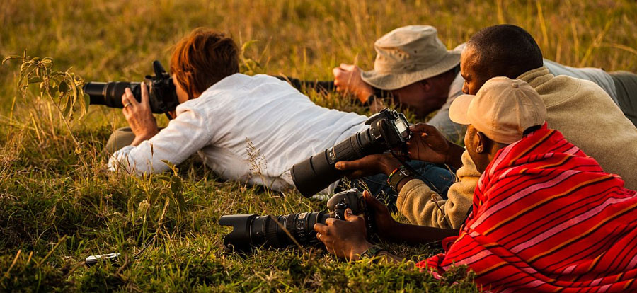Wildlife photography workshop. Africa big cats in the marai mara, Kenya.